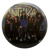 Anthrax - 'Group Graffiti' Button Badge